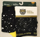 NEW PAIR OF THIEVES Super Fit Boxer Briefs + Crew Socks - S M L XL Black White