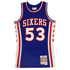 Darryl Dawkins Philadelphia 76ers Hardwood Throwback NBA Swingman Jersey on eBay