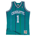 Muggsy Bogues Charlotte Hornets Hardwood Classics Throwback NBA Swingman Jersey on eBay