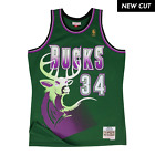 Ray Allen Milwaukee Bucks Hardwood Classics Throwback NBA Swingman Jersey on eBay