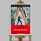 For Your Eyes Only James Bond Movie Stretched Canvas Or Poster Print Wall Art £8.99 GBP on eBay