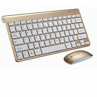 NEW Bluetooth Keyboard and Wireless 2.4G Mouse Combo For PC Windows Laptop