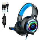 4D Stereo LED 70X PRO Gaming Headset for Nintendo Switch, PS4, Xbox One And PC