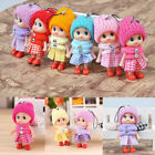 6pcs 8cm Kids Toys Soft Interactive Baby Dolls Toy Mini Doll Cute For Girl Gift
