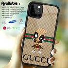 Case iPhone 6s X XR XS Guccy45RCases 11 Pro Max/Samsung Galaxy S20 S10 Deadpool