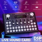 bluetooth Live Streaming Sound Card Webcast Phone Computer Audio Voice Mixed