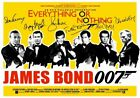 007 JAMES BOND - SIGNED BY ALL BONDS - HIGH GLOSS PHOTO POSTER FREE POSTAGE $19.95 AUD on eBay
