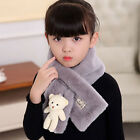 Animal Autumn Winter Warm Scarf Faux Fur Neck Warmer Scarf For Kids Gift QK