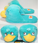 Disney PERRY PLATYPUS Phineas & Ferb ADULT Slippers PLUSH HOUSE SHOES S-XL NEW