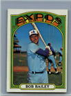 1972 Topps Baseball Cards Complete Your Set You Pick Choose Each #526 - 656