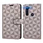 For Motorola Moto G Stylus Wallet Case RFID PU Leather Card Holder Phone Cover