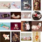 Cute Newborn Boys Girl Crochet Knitted Baby Outfits Costume Set Photography NEW