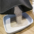 New Cat Litter Mat Clean Products 1Pc Accessories Non-slip Thick Double-Layer J