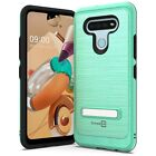 CoverON SleekStand For LG K51 Kickstand Hybrid Protective Phone Cover Hard Case