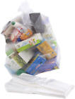 Abbey Quality Clear Polythene Recycling Bin Liners Bags/Sacks/Refuse/Rubbish NEW