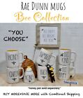 Kyпить Rae Dunn Mug Bee Collection HONEY QUEEN BUMBLE BUSY
