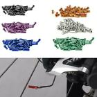 Bicycle Brake Cable End Caps Al Alloy Bike Shifter 50 Tips Inner Cable V7e4