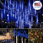 30cm/ 50cm LED Lights Meteor Shower Rain 8Tube Outdoor Icicle Snow Falling Light