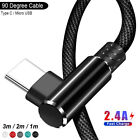 90 Degree Type C Micro USB Cable Fast Charging Data Sync Cord...