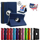 For iPad 2 3 4 Shockproof Case Cover 360 PU Rotating Leather Folio Stand NEW