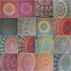 Peacock Mandala Tapestry Wall Hanging Throw Hippie Bohemian India 100% Cotton