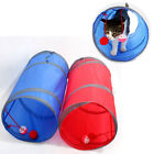 25x50cm Cute Easy Clean Foldable Small Play Rest Polyester Pet Tunnel Cats Dogs