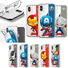Avengers Clear Jelly Case for Samsung Galaxy S20 S20+ Ultra / S10 S9 S8 S7
