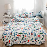 ?Latest Arrival? Queen Duvet Cover Kids Duvet Cover Cotton Dinosaur Comforte