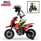 6V Kids Ride On Motorcycle Toy Electric Battery Powered Training wheels 2 Color