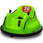 Kids ASTM-certified Electric 6V Ride On Bumper Car W/ Remote Control 360 Spin