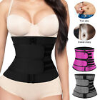 Waist Trainer Neoprene Belt Sweat Body Shaper Tummy Control Girdle For Women Men