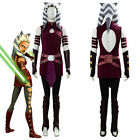 Star Wars: The Clone Wars Ahsoka Tano Costume Cosplay Outfit Full Set P