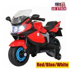 6V Kids Ride On Motorcycle ElectricTricycle Battery Powered w/Auxiliary Wheels