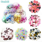 Mixed Colors Paper Confetti Balloon Filling Round Towel Dots Party Sprinkling