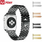 Apple Watch Band Series 5 4 3 2 Stainless Steel Metal Strap iWatch Band Bracelet image