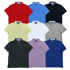 Tommy Hilfiger Mens Polo Shirt Custom Fit Mesh Short Sleeve Collared Top Flag Th