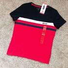 NWT Tommy Hilfiger Women's Round Neck Graphic Signature Tee Shirt 100% Cotton