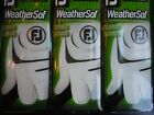 FootJoy WeatherSof Golf Gloves (SOLD AS A 3-PACK) - for Left Hand