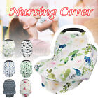Nursing Cover Carseat Stroller Breathable Stretchy Breastfeeding Baby Car