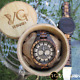 The Great Yggdrasil Tree Of Life Handmade Viking Wooden Watch