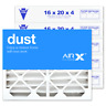 AIRx Dust 16x20x4 Air Filter Replacement for White Rodgers FR1000M-108 6Pk