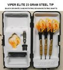 Viper Darts Elite 23 gm Steel Tip Dart Set with Beer Mug Flights