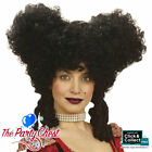 BAROQUE PERIOD CHRISTMAS PANTOMIME DAME COSTUME WIG White, Black, Burgundy