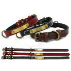 2020 Leather Pet Collar The Leather+cloth Dog Collar Pet Supplies XS/S/M/L/XL