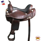 Flex Tree Western Horse Saddle Trail Endurance American Leather U-02BZ
