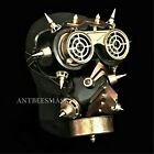 New Halloween Science Fiction Steampunk FlipUp Goggles Burning Man Gas Mask