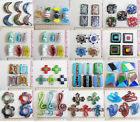 Lots 10pcs Fashion Handmade Lampwork Glass Pendant For Necklaces Supply