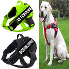 Adj Service Dog No Pull Harness Pet Puppy Cat Dogs Emotional Reflective dog Vest