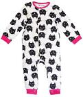 Baby Girls Minoti Kitten Cat Print Sleepsuit Cotton Romper Newborn to 12 Months