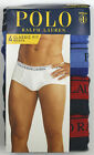 Polo Ralph Lauren Classic Fit  Briefs 4 Pack 100% Cotton M, XL, 2XL